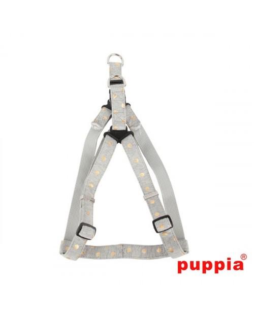 Szelki dla Psa Puppia Modern Dotty Harness X Grey
