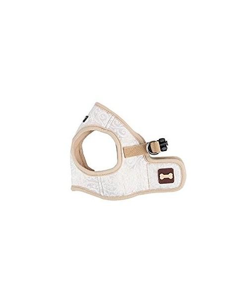 Szelki dla Psa Puppia Typ B Gala Harness Beżowo-Złote