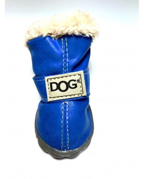 Buty dla Pieska Milk&Pepper chaussures bleues blue