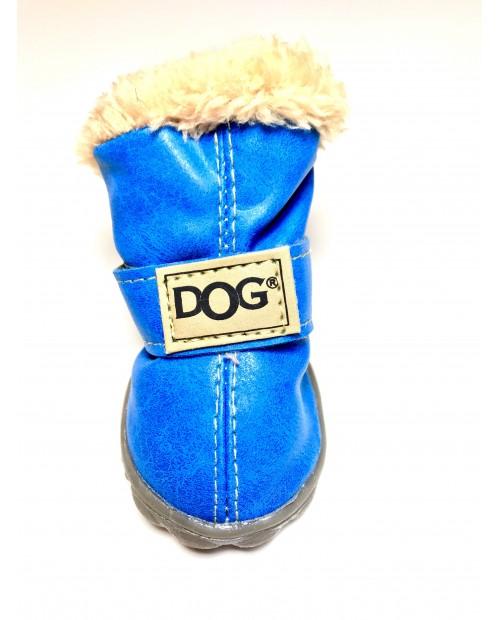 Buty dla Pieska Milk&Pepper chaussures bleues błękitne