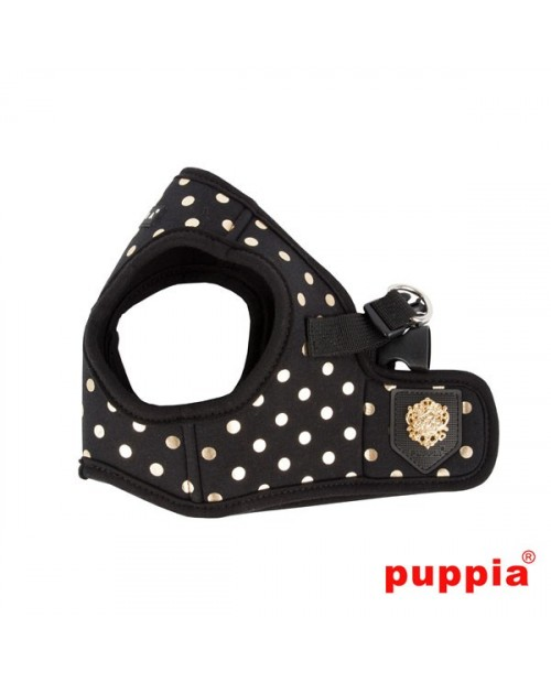 Szelki dla Psa Puppia Dotty Harness B Black