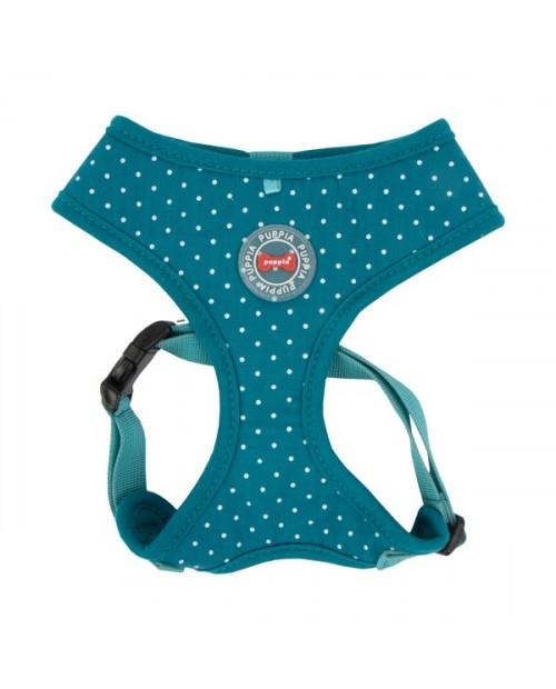 Szelki dla Psa Puppia Typ A Dotty Harness II Niebieskie