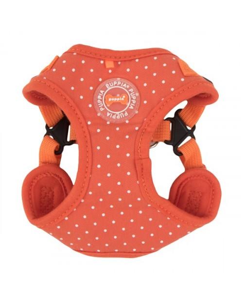 Szelki dla Psa Puppia Typ C Dotty Harness II Pomarańczowe