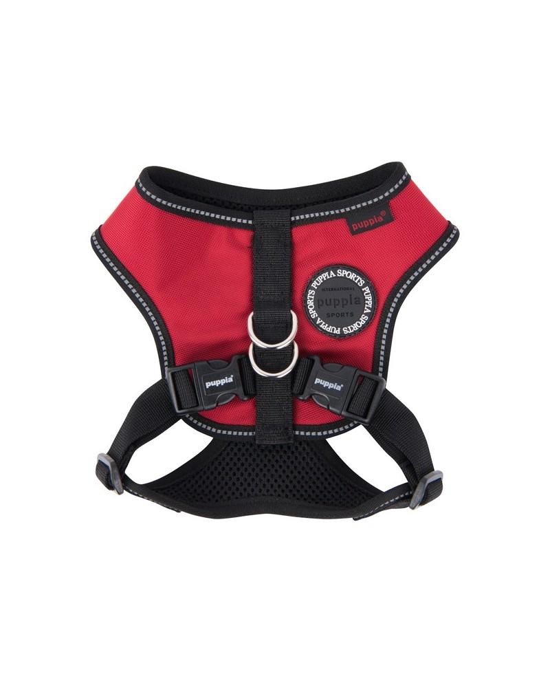 Szelki dla Psa Puppia Typ E Trek Snugfit Harness Czerwone