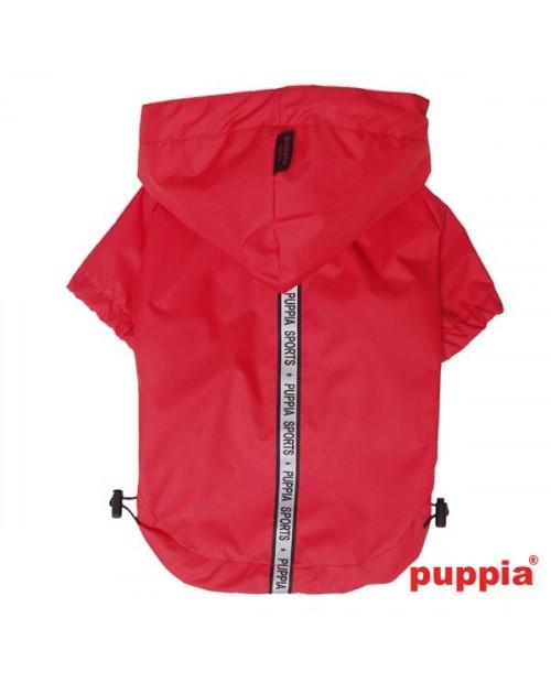 Kurtka przeciwdeszczowa Puppia Base Jumper Raincoat Czerwona