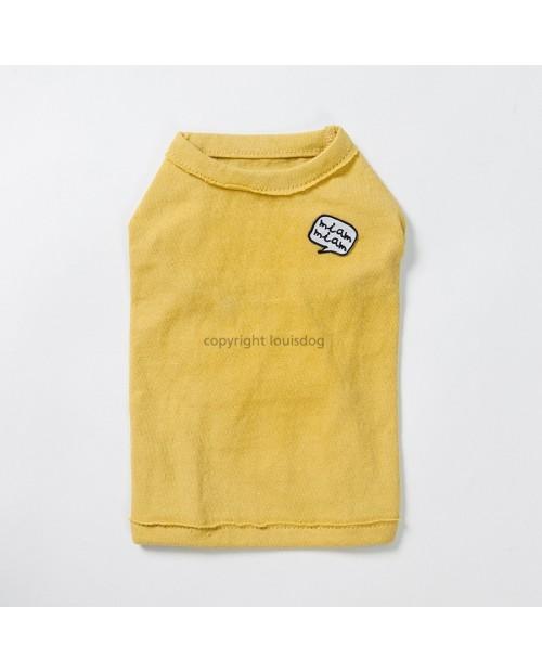 Tshirt dla Psa Louis Dog Play Tee Yellow