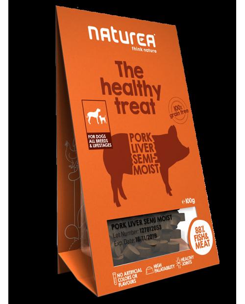 Przysmak dla Psa Naturea The Healthy Treat Pork Liver