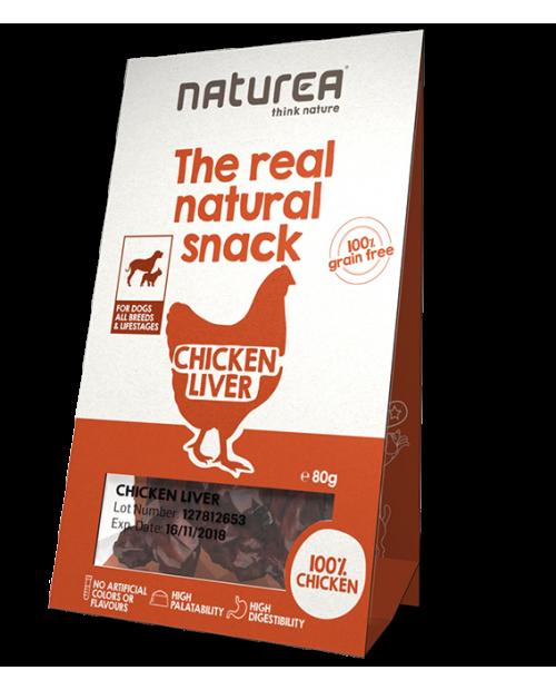 Przysmak dla Psa Natureal The Real Natural Chicken Liver