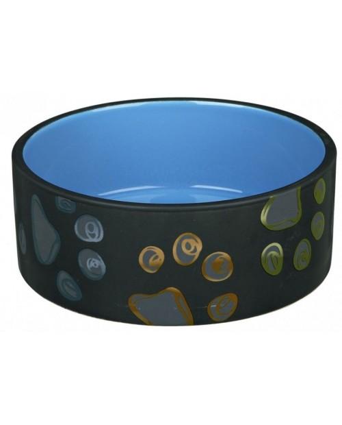 Miska dla Psa ceramiczna Jimmy Niebieska