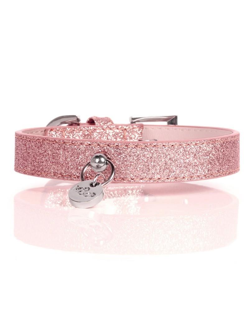 Obroża dla Psa Milk&Pepper Stardust Pink Collier