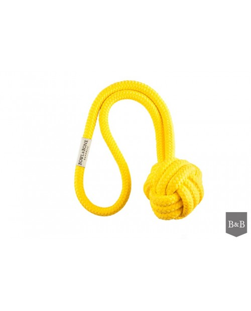 zabawka dla psa bullet yellow