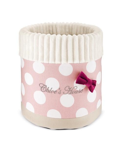 Box na zabawki Toscany różowy