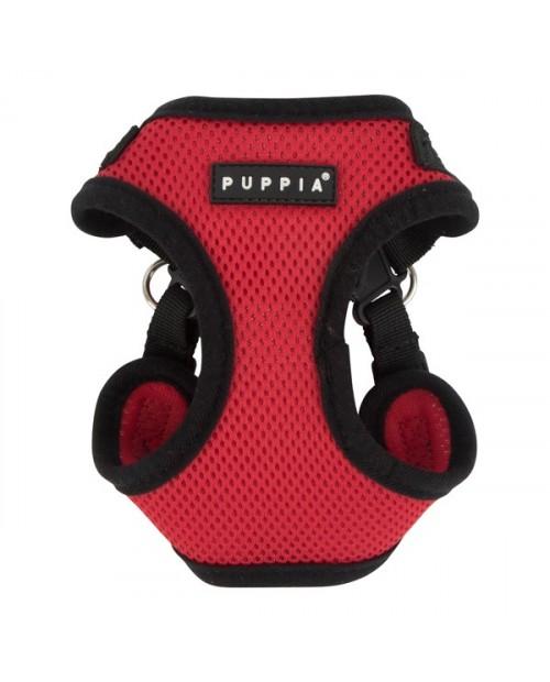 Szelki dla Psa Puppia Typ C Soft Harness Czerwone