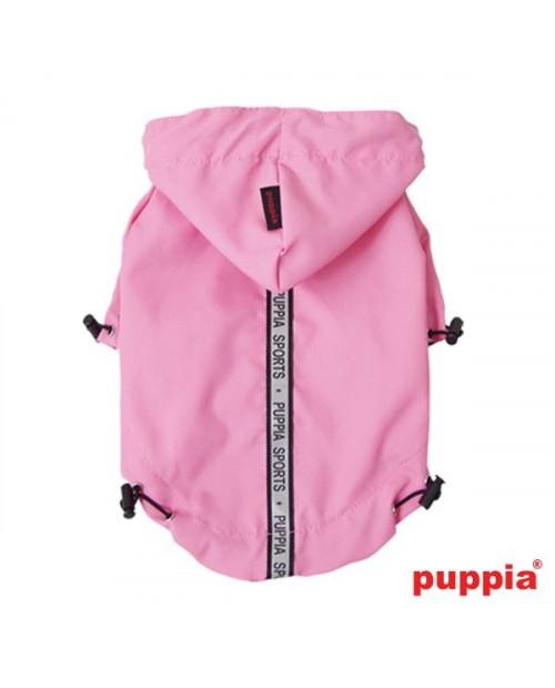Kurtka przeciwdeszczowa Puppia Base Jumper Raincoat Różowa
