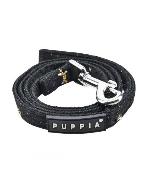 Smycz dla Psa GIA Puppia- czarna