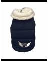 Puchowa kurtka dla pieska na futerku Puppy Angel Milky Padded Vest RD