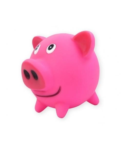 Zabawka piłka świnka 10cm