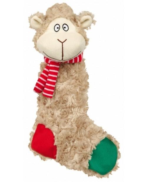 Zabawka dla Psa Świąteczna Skarpeta