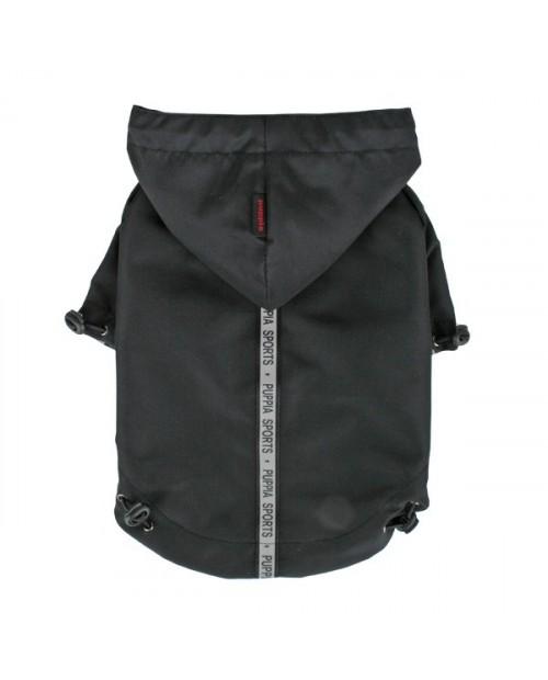 Kurtka przeciwdeszczowa Puppia Base Jumper Raincoat Czarna