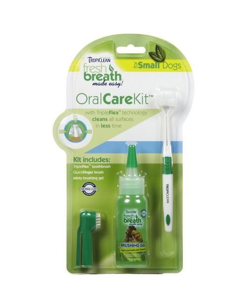 Tropiclean Oral Care Kit - zestaw do czyszczenia zębów dla ras małych3