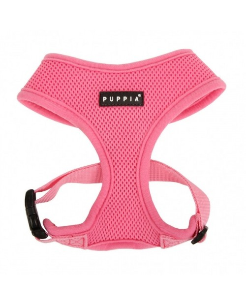 Szelki dla Psa Puppia Soft Harness A Pink