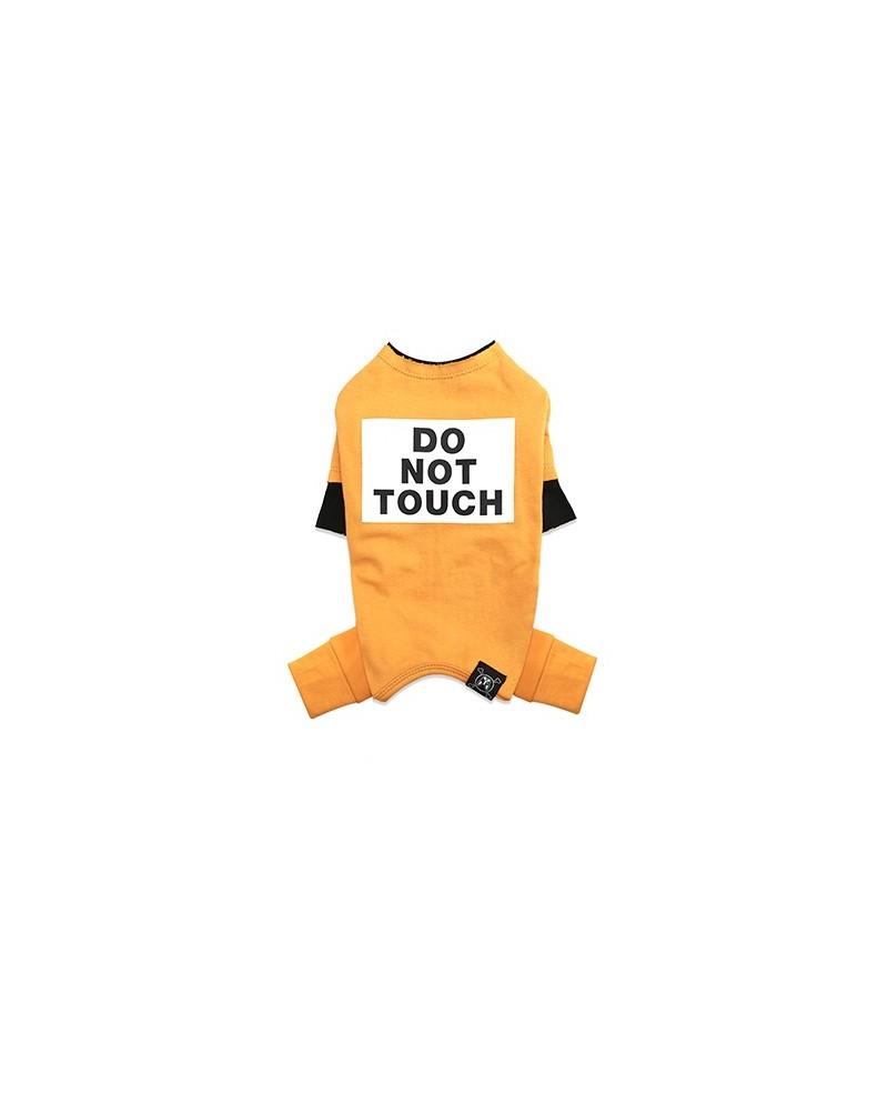 Kombinezon dla Pieska Do Not Touch NEVEL (TM) Overall YELLOW