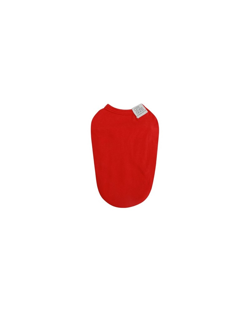 Puppy Angel MAC Daily Sleevelss T-shirts red