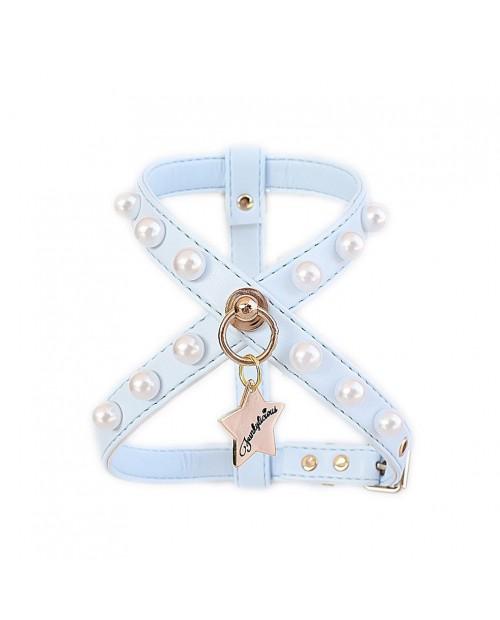 Szelki dla Pieska New Pearls Azul