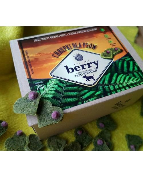 Berry Dog Snacks udko z indyka