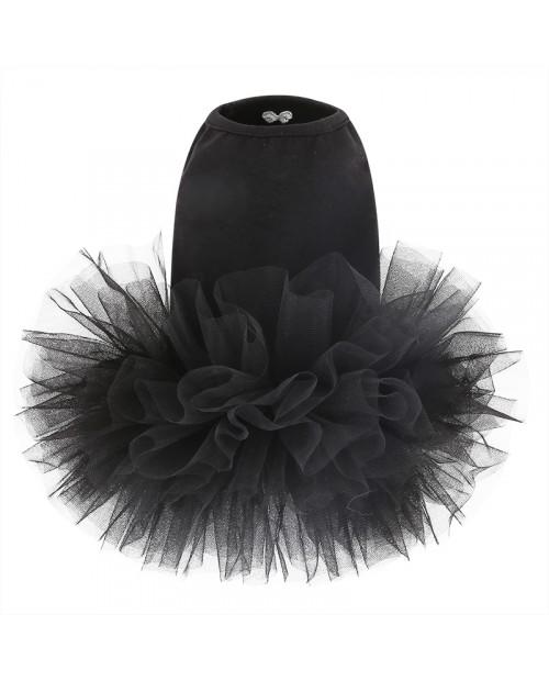 Sukienka dla Pieska Puppy Angel TUTU Dress Czarna