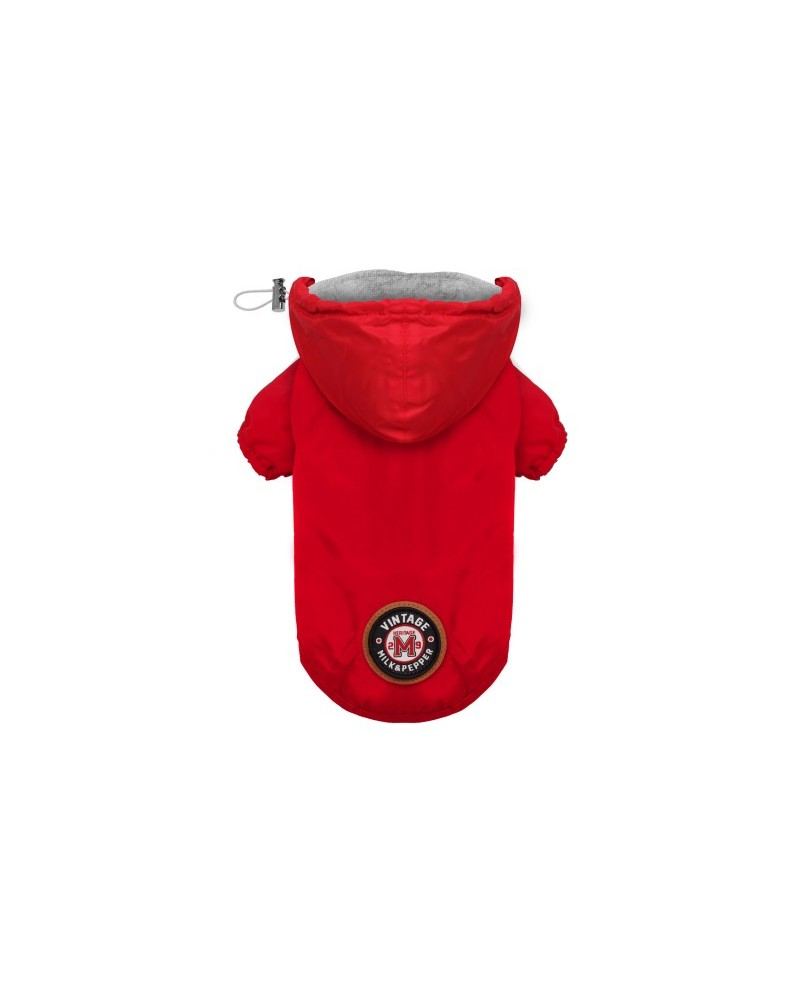 Kurtka przeciwdeszczowa dla Psa Preppy Navy Coupe-Vent Milk&Pepper