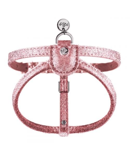 Szelki dla Pieska Stardust Harness Pink Milk&Pepper Pink