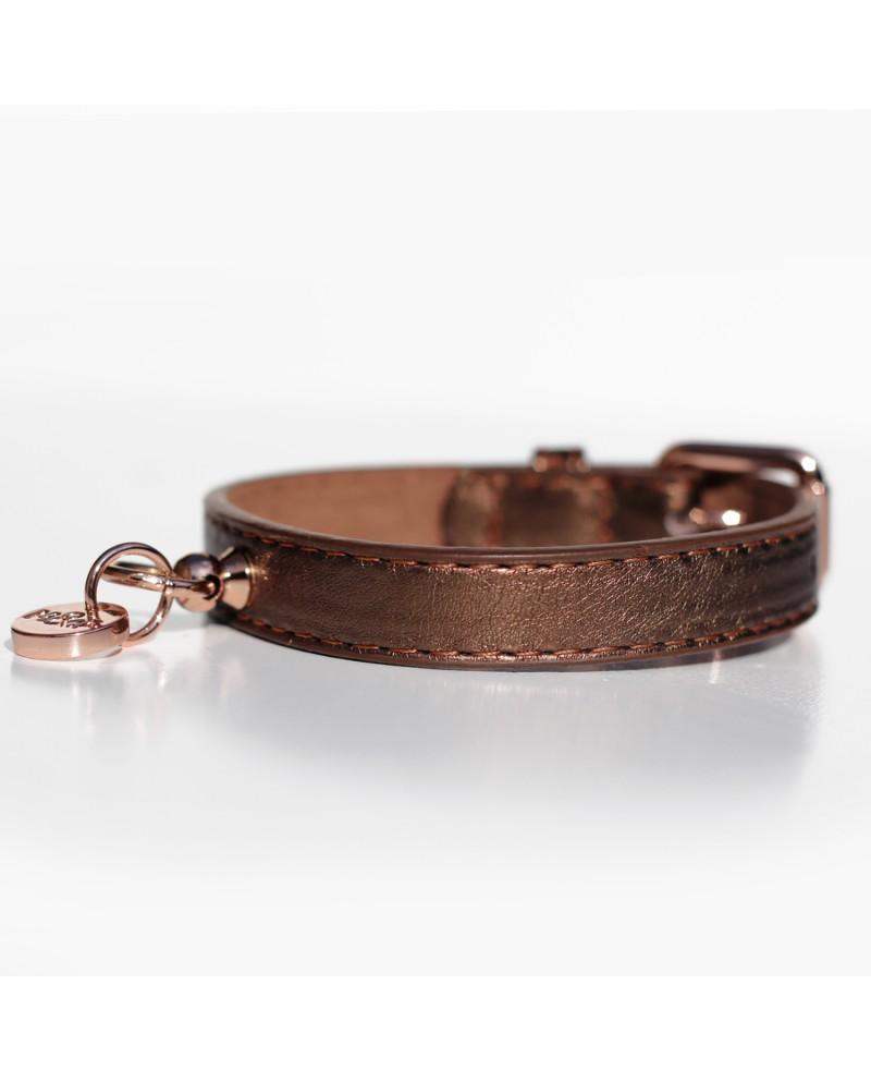 Collar Shine Copper- Obroża miedziana Milk&Pepper