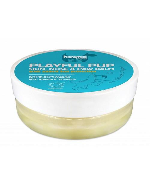 Balsam Hownd Playful Pup 50g - balsam do skóry, nosa i łap z filtrem przeciwsłonecznym