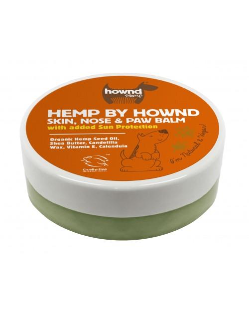 Hemp by Hownd Skin, Nose & Paw Balm 50g - całoroczny balsam do skóry, nosa i łap z filtrem przeciwsłonecznym SPF 8