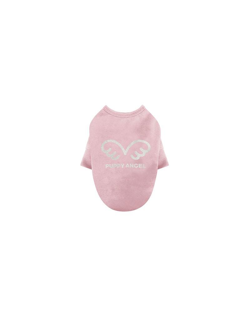 Bluzka T-shirt dla Psa różowy