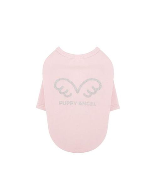 Bluzka T-shirt dla Psa jasny róż