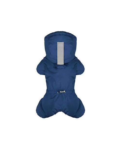 Kombinezon zimowy z logo na łapce Puppy Angel MAGAGIO niebieski