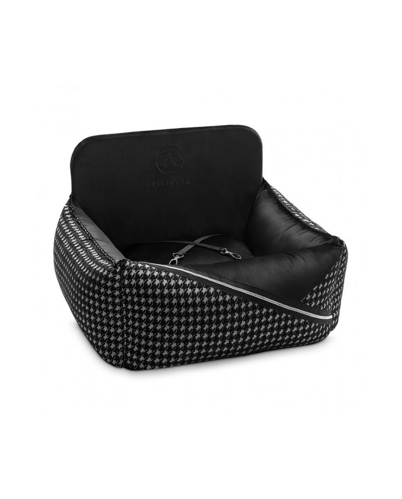 Luksusowe siedzisko do auta Prestige czarne