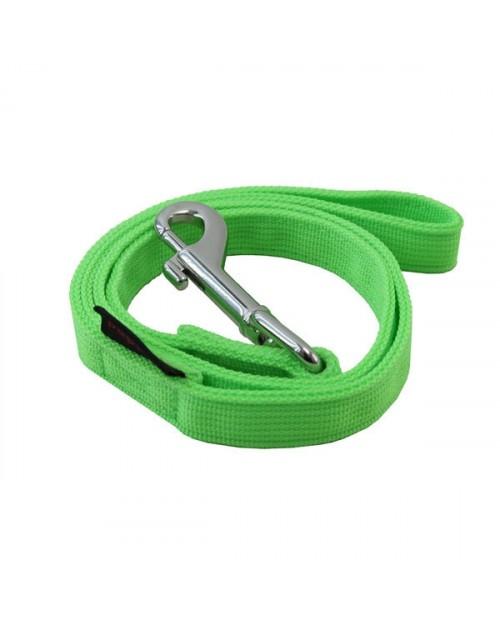 Smycz dla Psa neon lead green