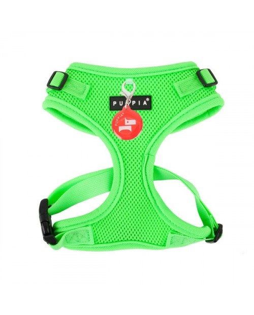 Szelki dla Psa Puppia Neon Soft Harness II Green