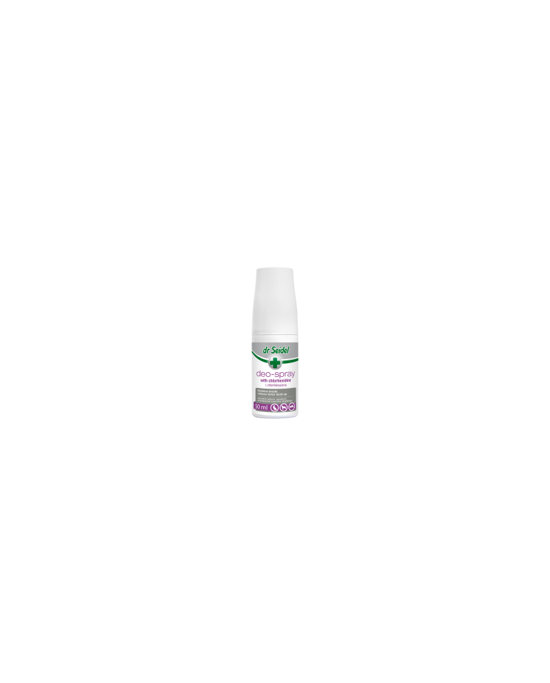 dr Seidel - Deo - spray z chlorheksydyną do odświeżania oddechu