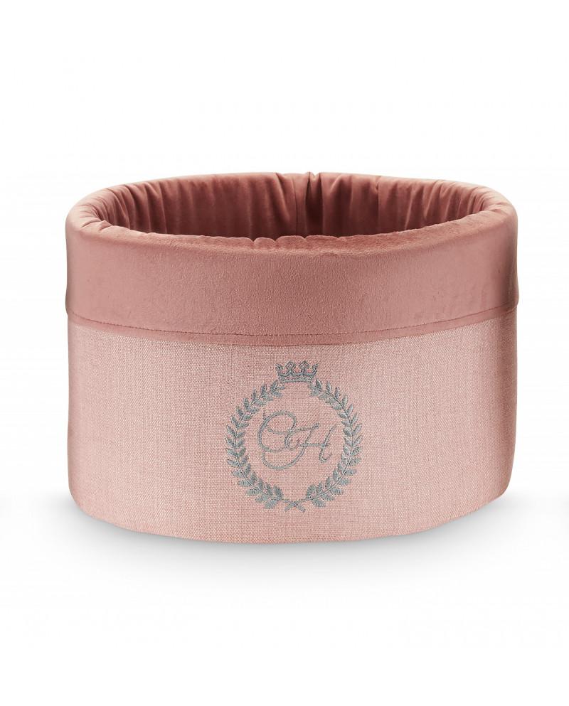 Box na zabawki BAHAMAS różowy