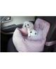 Legowisko Puppy Angel Driving Kit Dog Car Seat Beige