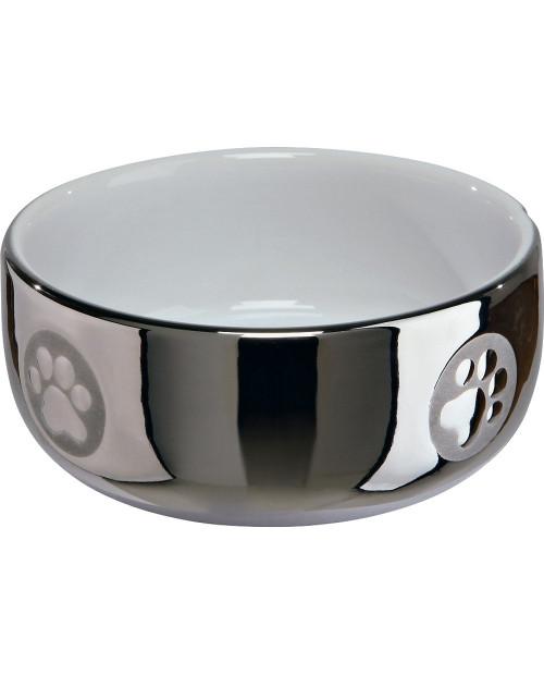Ceramiczna miska dla zwierzaka Silver