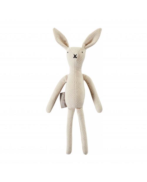 Zabawka królik ROGER ecru