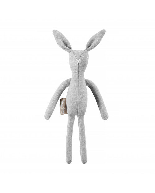 Zabawka królik ROGER szary