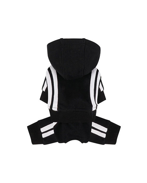 Dres dla Psa Puppy Angel Basic Tape Tracksuit czarnt