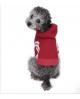 Dresowa Bluza dla Psa Puppy Angel BasicTape Hood T-shirt BIAŁA