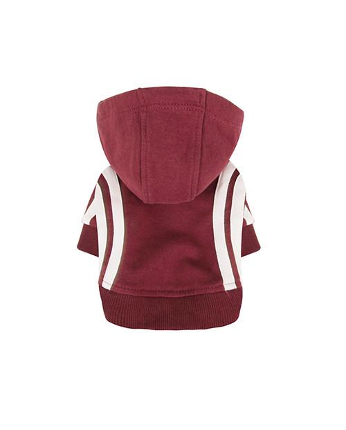 Dresowa Bluza dla Psa Puppy Angel BasicTape Hood T-shirt czerwona